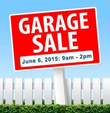 middleport community garage sale